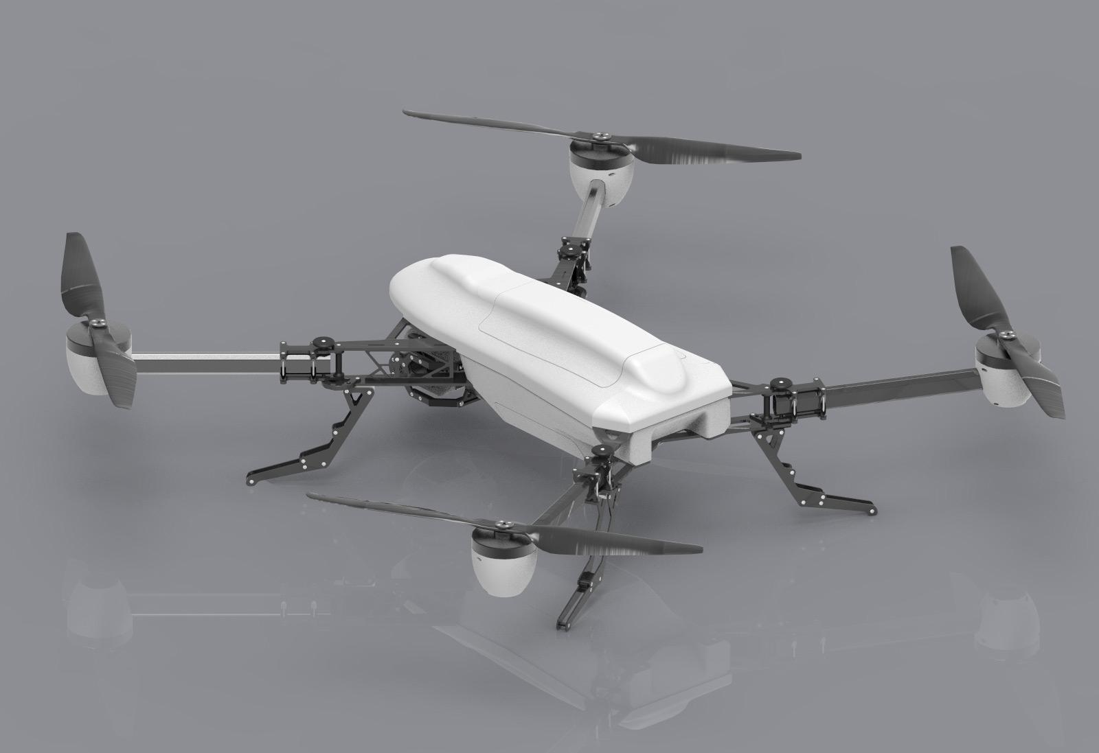 UAV platform FRONTIER in white version.